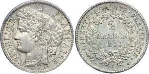 2 Franc French Second Republic (1848-1852) Silver