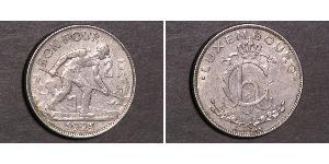 2 Franc Luxembourg Silver