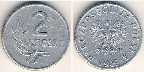 2 Grosh Polonia Alluminio