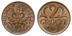 2 Grosh Seconda Repubblica Polacca (1918 - 1939) / Polonia Rame