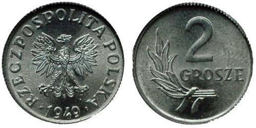 2 Grosh Pologne