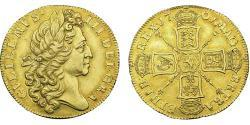 2 Guinea Kingdom of England (927-1649,1660-1707) Gold William III (1650-1702)