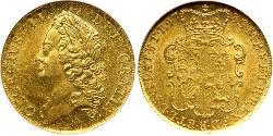 2 Guinea Kingdom of Great Britain (1707-1801) Gold George II (1683-1760)
