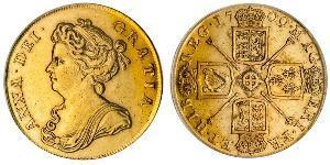 2 Guinea Royaume de Grande-Bretagne (1707-1801) Or Anne (reine de Grande-Bretagne)(1665-1714)
