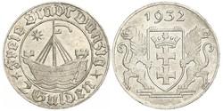 2 Gulden Gdansk (1920-1939) Plata