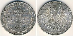 2 Gulden  Silver