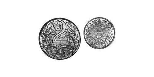 2 Heller Österreich-Ungarn (1867-1918) Iron