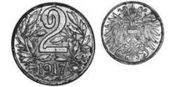2 Heller Austria-Hungary (1867-1918) Iron