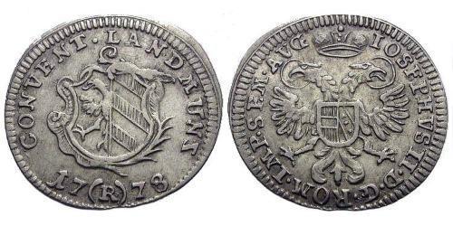 2 Kreuzer Germany Billon