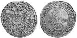 2 Kreuzer Augsburg (1276 - 1803) Silber Leopold I. (HRR)(1640-1705)