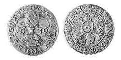 2 Kreuzer Augsburg (1276 - 1803) Silber Ferdinand II. (HRR)(1578 -1637)