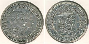 2 Krone 丹麦 銀 克里斯蒂安十世 (1870 - 1947)