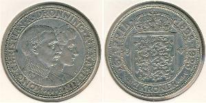 2 Krone Danemark Argent Christian X de Danemark (1870 - 1947)