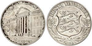 2 Krone Estonia (Republic) Argento