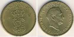 2 Krone Dänemark Bronze/Aluminium