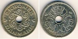 2 Krone Denmark Copper/Nickel