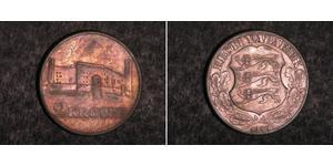 2 Krone Estonia (Republic) Plata