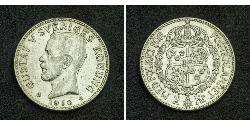 2 Krone Schweden Silber Gustav V. (Schweden) (1858 - 1950)