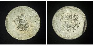 2 Kurush Osmanisches Reich (1299-1923) Silber Selim III