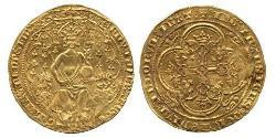 2 Leopard Kingdom of England (927-1649,1660-1707) Gold Edward III (1312-1377)
