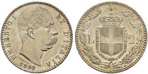 2 Lira 意大利 銀