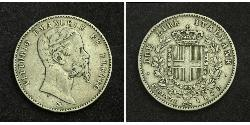 2 Lira Kingdom of Italy (1861-1946) Silber Umberto I (1844-1900)