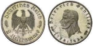 2 Mark 納粹德國 (1933 - 1945) 銀