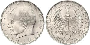 2 Mark 西德 (1949 - 1990) 銀