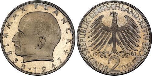 2 Mark Germania Ovest (1949-1990) Argento