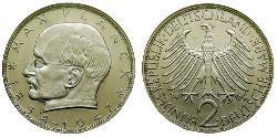 2 Mark Alemania Occidental (1949-1990) Níquel/Cobre