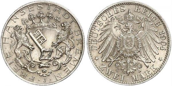 2 Mark Bremen (estado) Plata