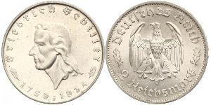 2 Mark Deutsches Reich (1933-1945) Silber