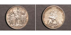 2 Mark Kingdom of Prussia (1701-1918) Silver