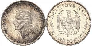 2 Mark Nazi Germany (1933-1945) Silver