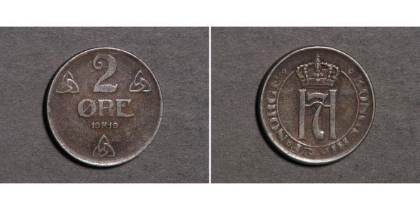 2 Ore Norvège Bronze