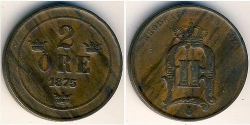 2 Ore Schweden Bronze