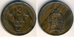 2 Ore Sweden Bronze