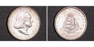 2 Pengo 匈牙利王国 (1920 - 1946) 銀 李斯特·费伦茨