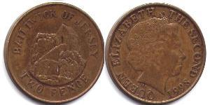 2 Penny Isola di Jersey