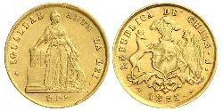 2 Peso Chile Gold