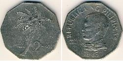 2 Peso Philippinen Kupfer/Nickel