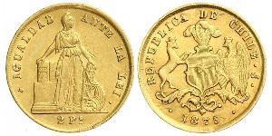 2 Peso Cile Oro