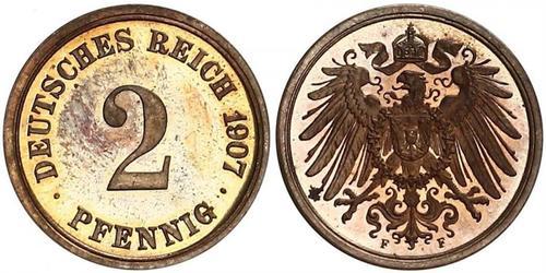 2 Pfennig Germany Bronze