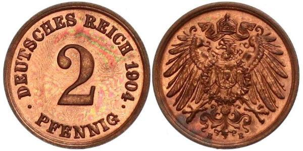 2 Pfennig Germany Bronze