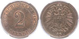 2 Pfennig 德国