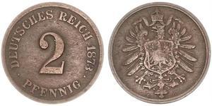 2 Pfennig Germania