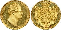 2 Pound United Kingdom of Great Britain and Ireland (1801-1922) / United Kingdom Gold William IV (1765-1837)