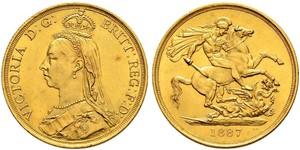 2 Pound Royaume-Uni Or Victoria (1819 - 1901)