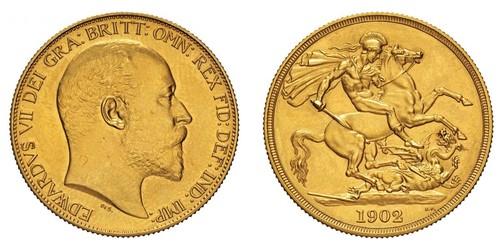 2 Pound Royaume-Uni de Grande-Bretagne et d