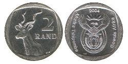 2 Rand South Africa Copper/Nickel